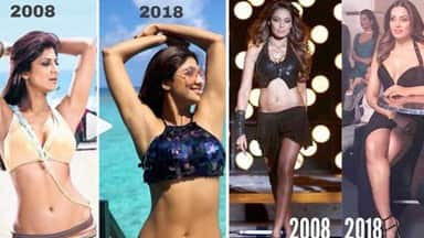 10 Year Challenge, 10 Year Challenge photos, facebook 10 Year Challenge  10 Years Challenge, Bollyw