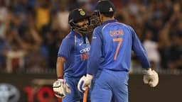 Kedar Jadhav and MS Dhoni
