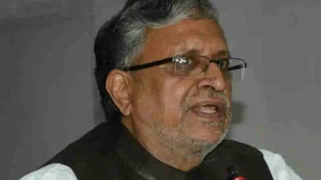 उप मुख्यमंत्री सुशील कुमार मोदी