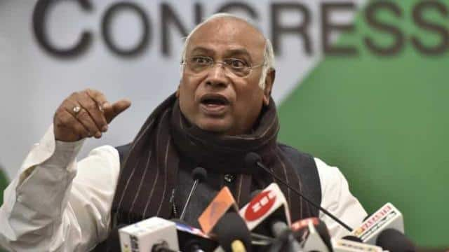 Apart from Mallikarjun Kharge (pictured) — in the panel by virtue of being the leader of the single