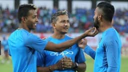 Hardik Pandya and Lokesh Rahul