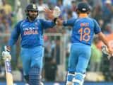 Rohit Sharma and Virat Kohli.(AFP)