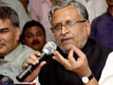 "Bihar deputy chief minister and senior BJP leader Sushil Kumar Modi on Sunday said an election is ""n"