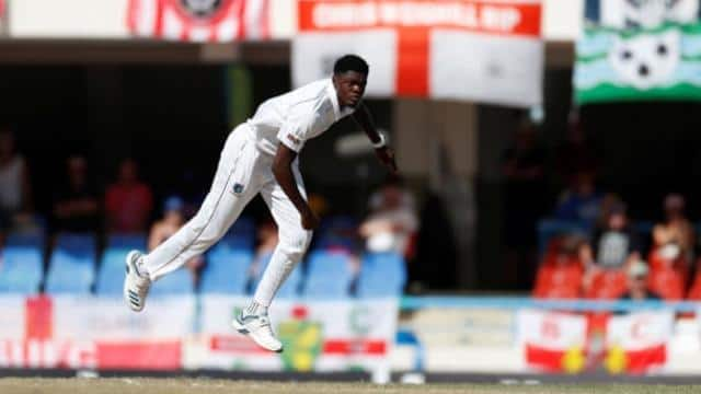 Alzarri Joseph opted to play despite news of his mother's death Images via Reuters