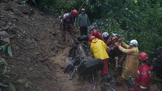 landslide due to heavy rain in Bolivia, 11 people dies