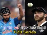 India vs New Zealand T20 Series