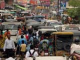 Traffic jam in Varanasi