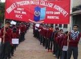 एनसीसी कैडेट्स ने निकाली सड़क सुरक्षा जागरूकता रैली