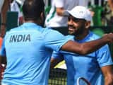 Rohan Bopanna and Divij Sharan (AFP)