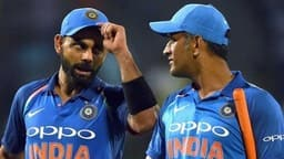 Virat kohli, MS Dhoni (AFP/Getty Images)