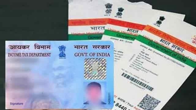 pan card-aadhar link