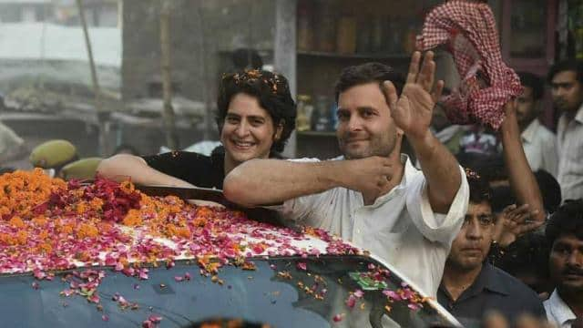 Image result for PRIYANKA gandhi IN LUCKNOW ROAD SHOW