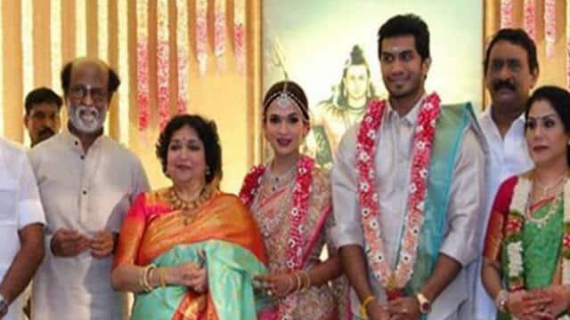 रजनीकांत की बेटी सौंदर्या दूसरी बार शादी के बंधन में बंध गई हैं। सोमवार सुबह एक्टर विशागन वनांगामुदी
