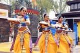 चौपाल पर दिखे हरियाणा और राजस्थान के लोकनृत्य के रंग