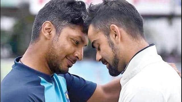 Kumar Sangakkara and Virat Kohli