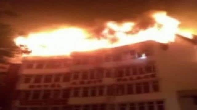delhi hotel fire