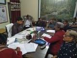 हंगामे के बीच एईएन के साथ हुई उरमू नेताओं की मीटिंग