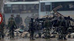 पुलवामा आतंकी हमला (एचटी फोटो)