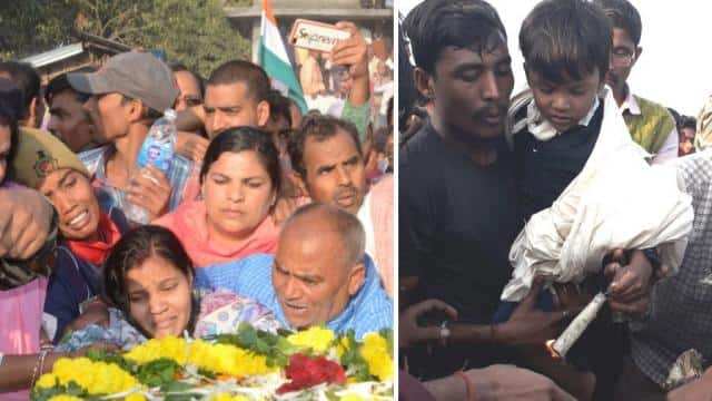 Pulwama terror Attack: when wife of shaheed ratan thakur said that sees her husband face once then s