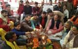 विंध्य पंडा समाज ने दी शहीदों को श्रद्धांजलि