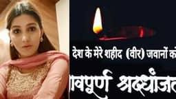 Pulwama Attack, sapna choudhary, sapna choudhary tribute, tribute to martyrs, sapna Emotional   Vid