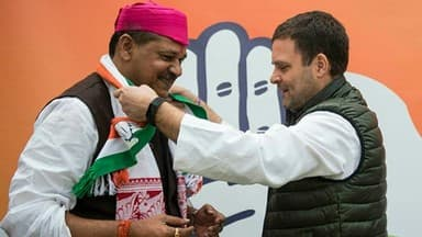 Kirti Azad, suspended Bihar BJP leader, joins Congress