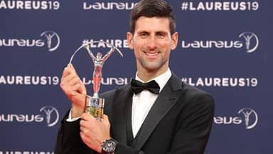 Laureus World Sportsman of the Year Novak Djokovic reveals story behind comeback