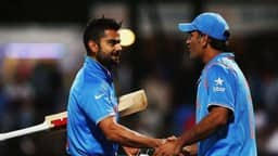 Virat Kohli and MS Dhoni.(Getty Images)
