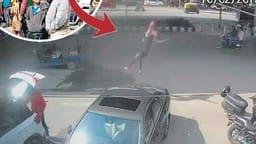 दिल्ली : कार ने बाइक को मारी टक्कर, एलिवेटेड रोड से 50 फीट नीचे जा गिरी युवती