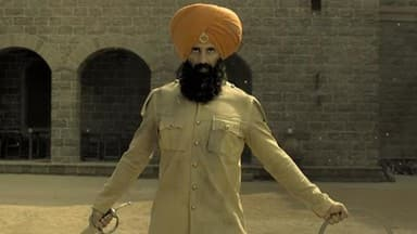 Kesari trailer: Akshay Kumar brave 21 take on 10000 Afghan soldiers in this rousing film. Watch
