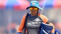 Indian Women cricket team during practice session ahead of their ODI against England