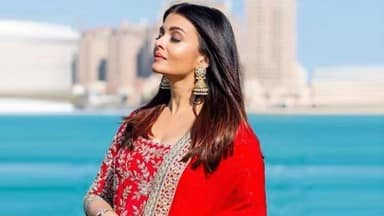 Aishwarya Rai looks like a new bride in latest pics from Qatar
