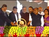 Union minister Nitin Gadkari did foundation stone of four big projects for kosi and seemanchal regio
