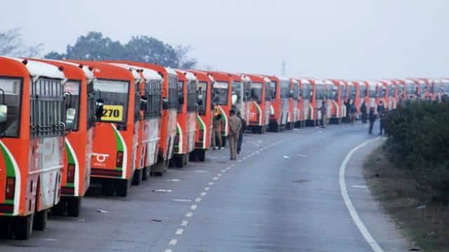 503 shuttle buses runs in Prayagraj