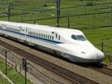 Bullet Train Project in India (Symbolic Image)