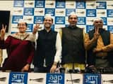 Candidates of AAP Delhi for the upcoming Loksabha election 2019 (Photo : @AamAadmiParty Twitter)