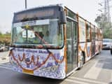 Electric Bus (Photo : @AamAadmiParty Twitter)
