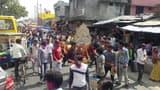 बिसौली में धूमधाम के साथ निकाली शोभायात्रा