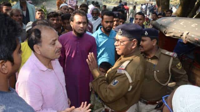 land dealer shot dead by criminals in land dispute at bhagalpur