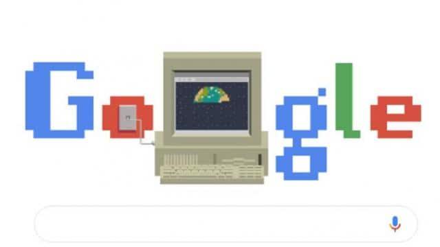 गूगल ने वर्ल्ड वाइड वेब के 30 साल पूरे होने पर बनाया डूडल