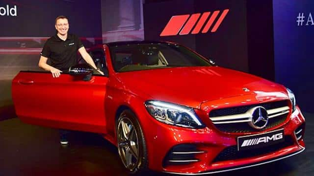 launch of mercedes-amg c 43 4matic coupe in new delhi