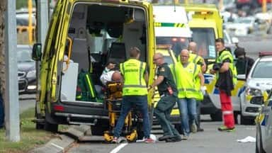 several dead in shooting at 2 new zealand mosques  christchurch in lockdown