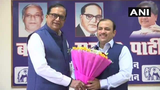 danish ali join bsp  ani photo