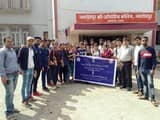 को-ऑपरेटिव कॉलेज में चला स्वच्छता अभियान