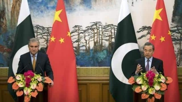 chinese foreign minister wang yi with his pakistani counterpart shah mahmood qureshi   ap photo