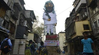 holi 2019  jaish-e-mohammad chief maulana masood azhar effigy will burn on holika dahan in mumbai