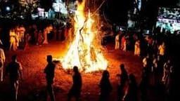 Holika dahan 2019: सालों बाद मातंग योग में हुआ होलिका दहन
