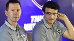ricky ponting and sourav ganguly  pti