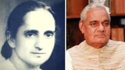 subhadra joshi and atal bihari vajpayee  photo- the better india