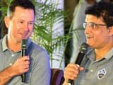 sourav ganguly and coach ricky ponting  afp